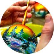 Роспись шаров