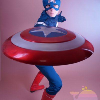 аниматор Капитан Америка на рекламную акцию