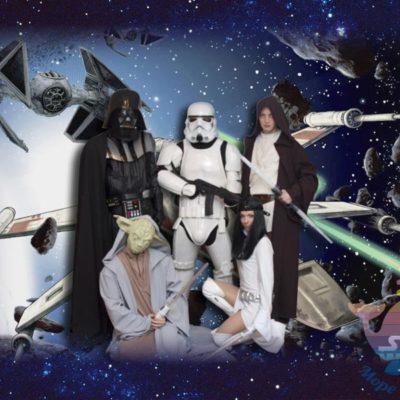 аниматор Звездные войны на рекламную акцию