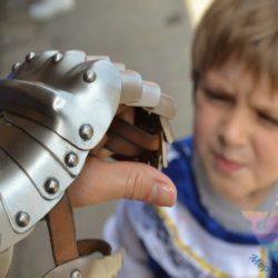 аниматор Средневековые рыцари на мероприятие