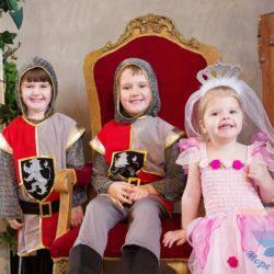 аниматор Средневековые рыцари На детский праздник