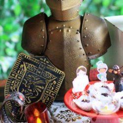 аниматор Средневековые рыцари на выпускной