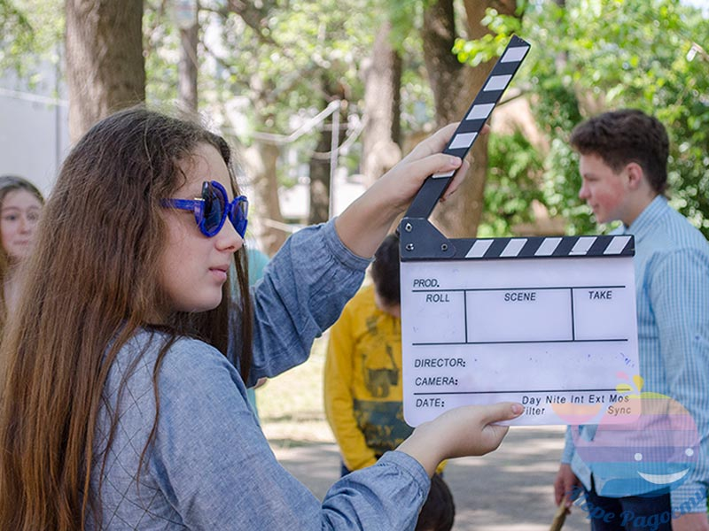 аниматор Снимаем кино На детский праздник