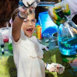Научное шоу на день рождения