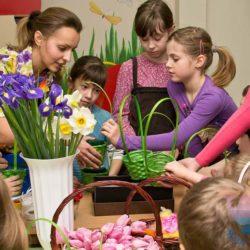 мастер-класс По флористике на детский праздник