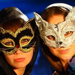 мастер-класс Карнавальные маски для взрослых