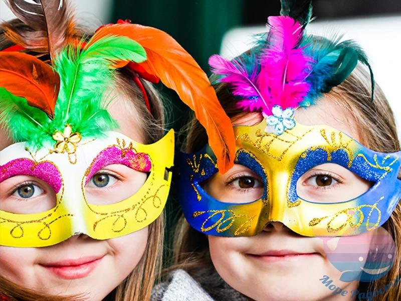 мастер-класс Карнавальные маски на мероприятие