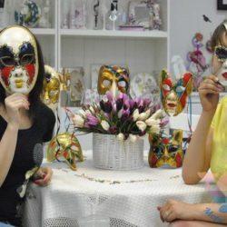 выездной мастер-класс Карнавальные маски