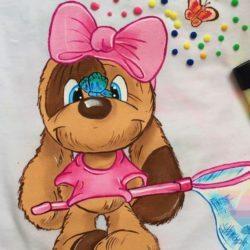 мастер-класс По росписи футболок на детский праздник