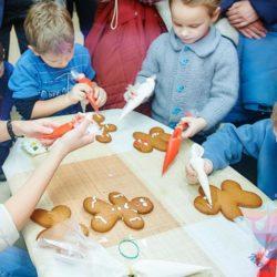 мастер-класс по росписи пряников на детский праздник
