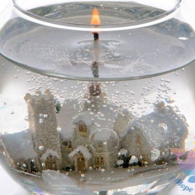 мастер-класс Гелевые свечи на корпоратив