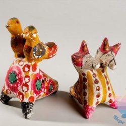 мастер-класс Глиняные игрушки для взрослых
