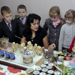 мастер-класс Глиняные игрушки в Москве