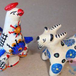 мастер-класс Глиняные игрушки на свадьбу
