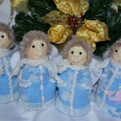 мастер-класс по созданию кукол и ангелочков на мероприятие