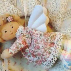 мастер-класс по созданию кукол и ангелочков на свадьбу