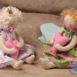 мастер-класс по созданию кукол и ангелочков на день рождения