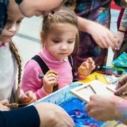 мастер-класс по эбру на детский праздник