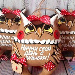мастер-класс Кофейные игрушки для детей