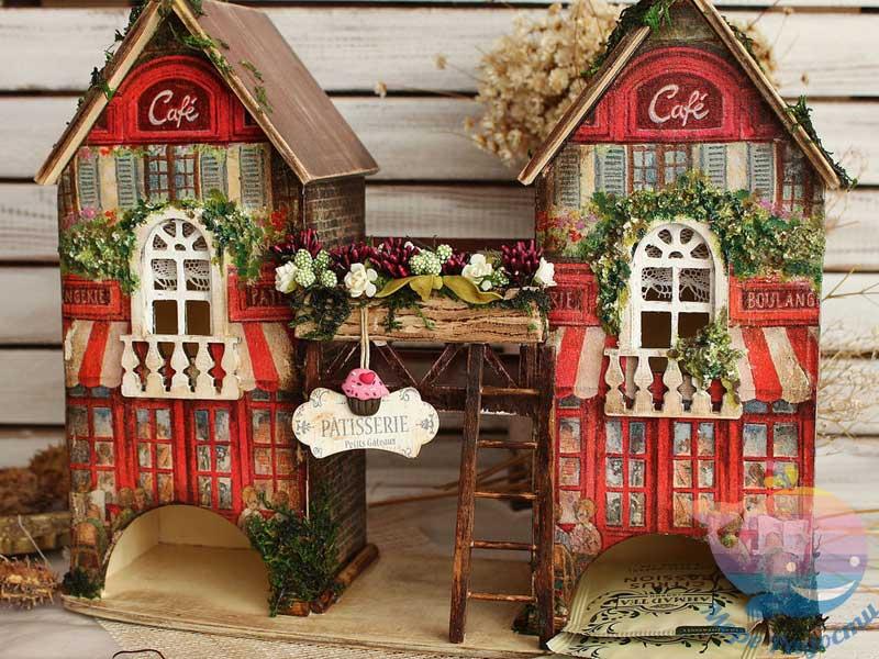мастер-класс Чайные домики в Москве