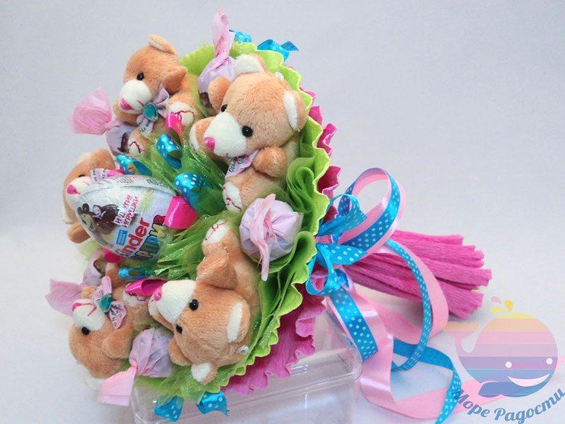 мастер-класс Букет из игрушек на свадьбу
