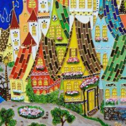 мастер-класс Витражная роспись на детский праздник