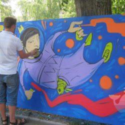 мастер-класс Граффити для детей