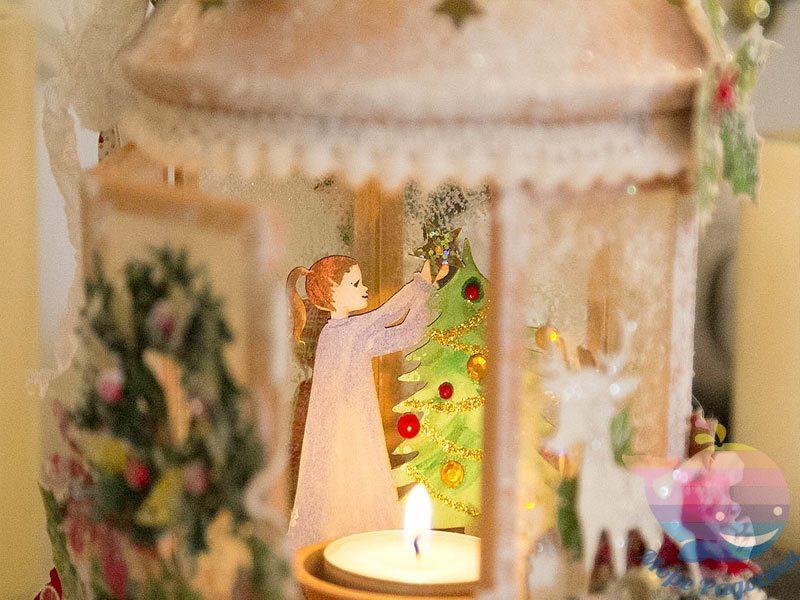 мастер-класс по новогодним фонарикам для детей