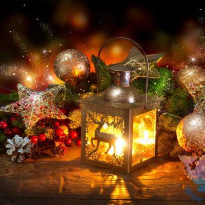 мастер-класс по новогодним фонарикам на детский праздник