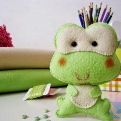 мастер-класс По игрушкам из фетра на день рождения