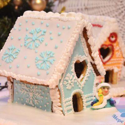 мастер-класс Пряничные домики на детский праздник