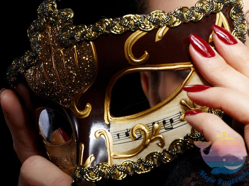 мастер-класс Новогодние маски для взрослых
