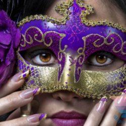 Мастер-класс новогодние маски