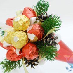 мастер-класс Букет из конфет в Москве