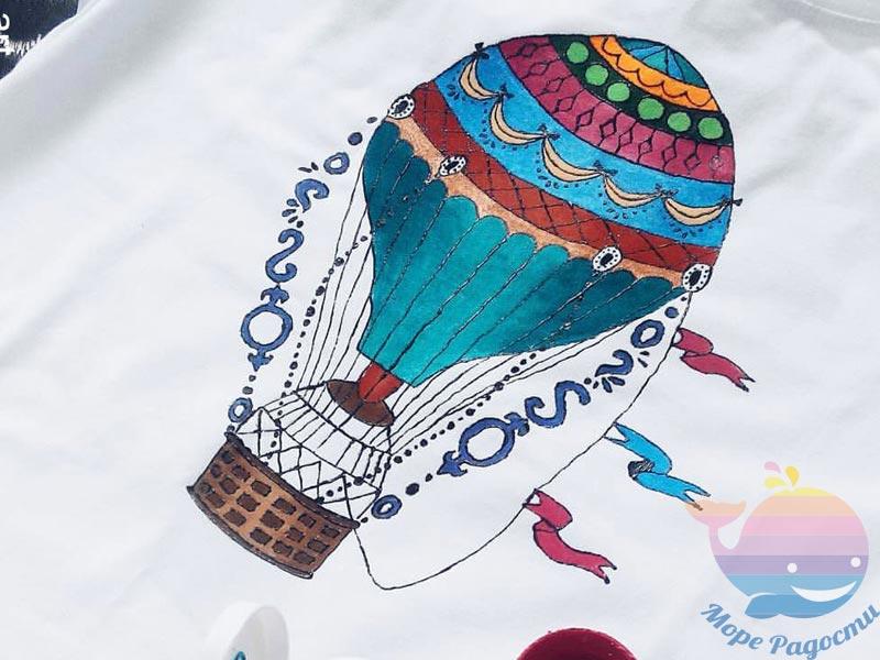 мастер-класс Роспись по ткани для детей