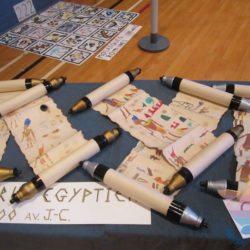 вечеринка Тайна Египта для детей