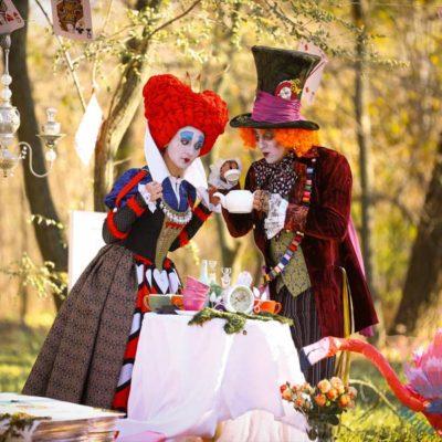 программа Алиса в Зазеркалье на свадьбу, юбилей