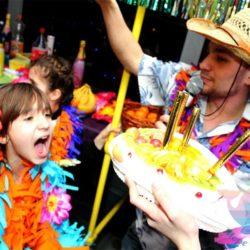 программа Гавайская вечеринка на детский праздник