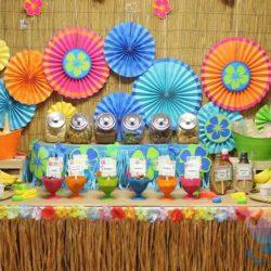 вечеринка Гавайская вечеринка для детей