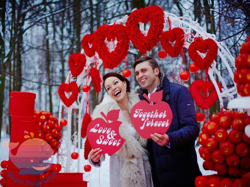 СвадьбаКраснаяв Москве