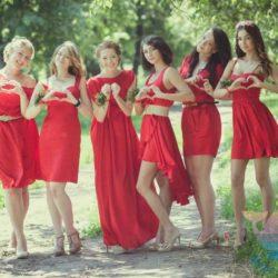 вечеринка Красная свадьба для взрослых