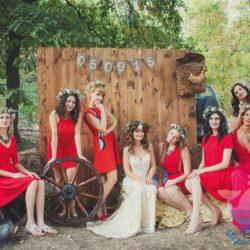 вечеринка Красная свадьба для детей