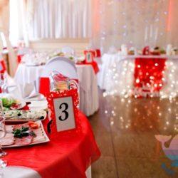 Свадьба Красная в ресторане