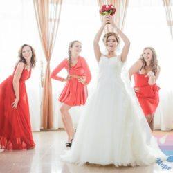 торжество в стиле Красная свадьба