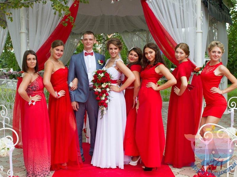 Свадьба Красная в доме отдыха