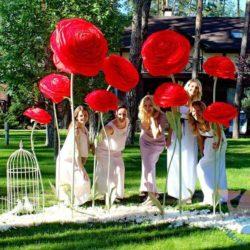 Свадьба Красная в Москве