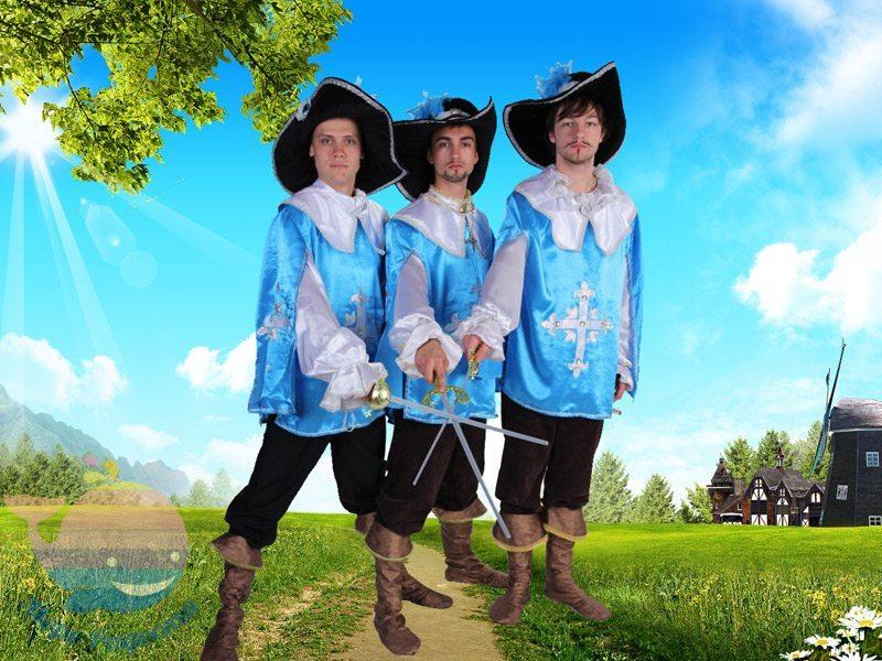 мушкетеры на детский праздник мальчика