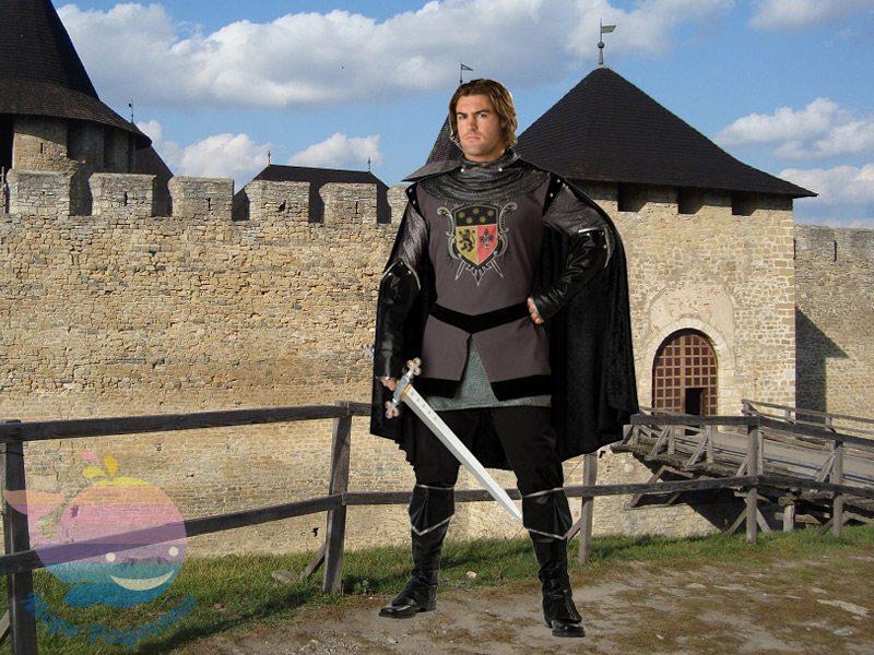 аниматор Средневековые рыцари для детей