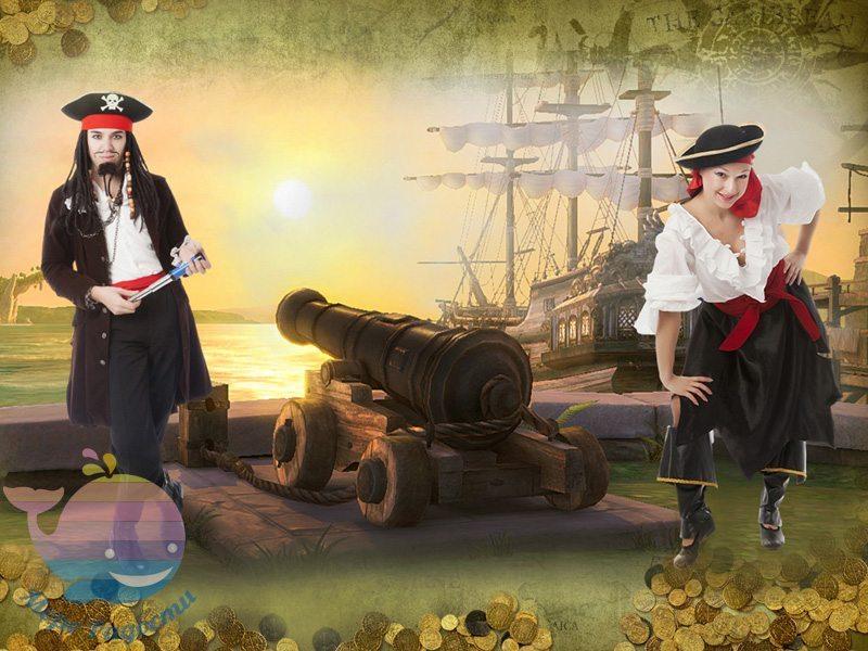 пираты на детский праздник девочке