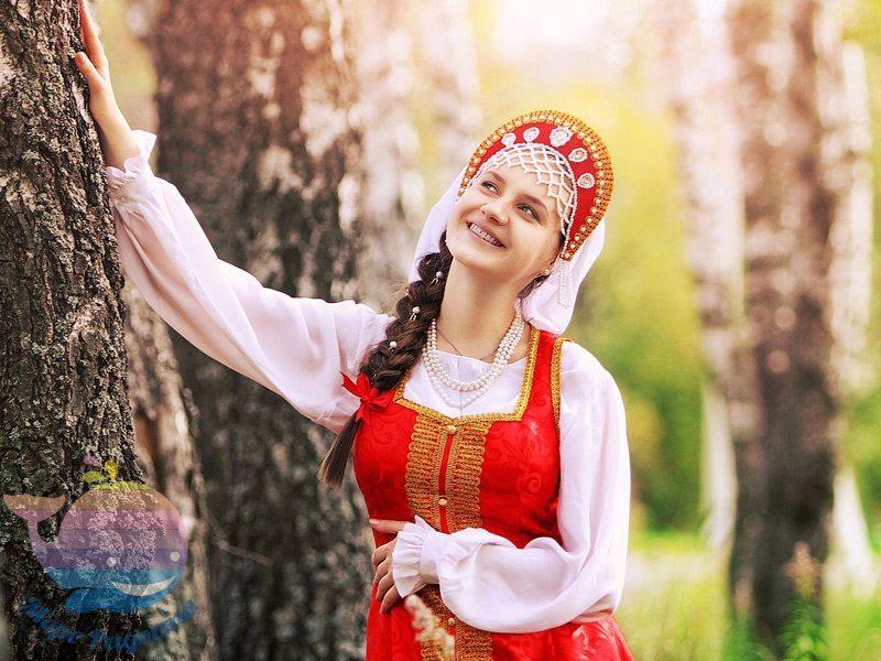 детский праздник в русском стиле для девочки